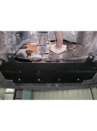 Защита двигателя, КПП, радиатора для авто Citroen С2 2003-2010 V-все ( TM Kolchuga ) ZiPoFlex