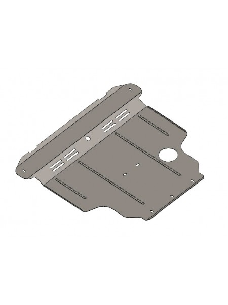 Защита двигателя, КПП, радиатора для авто Nissan Sunny 2007- V-все сборка ОАЕ ( TM Kolchuga ) ZiPoFlex