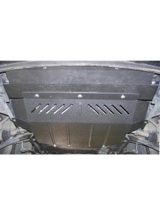 Защита двигателя, КПП, радиатора для авто Peugeot 307 2001-2008 V-все ( TM Kolchuga ) ZiPoFlex
