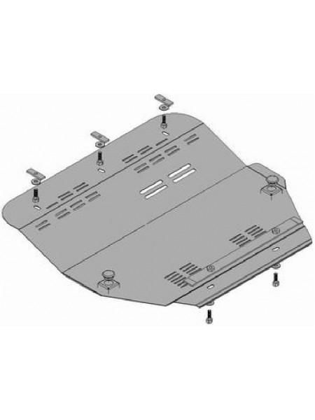 Защита двигателя, КПП, радиатора (частично) для авто Peugeot 807 2002-2010 V-2.0 Hdi 109 FAD ( TM Kolchuga ) ZiPoFlex