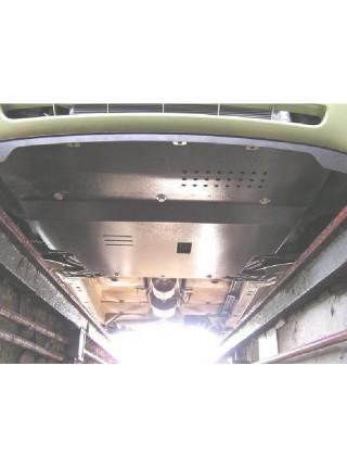 Защита двигателя, КПП, радиатора для авто Mitsubishi Colt 2004-2009- V-1.3 ( TM Kolchuga ) ZiPoFlex