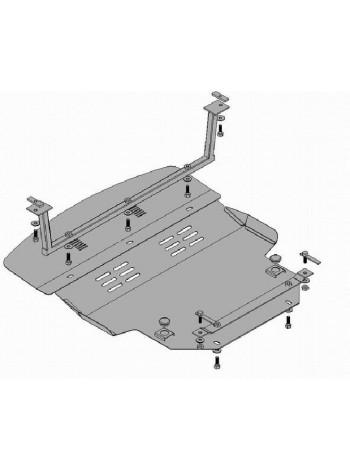 Защита двигателя, КПП, радиатора для авто Mitsubishi Colt 2004-2009- V-1.3 ( TM Kolchuga ) Стандарт