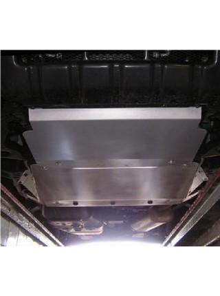 Защита двигателя и КПП для авто Mitsubishi Pajero Wagon 1999- V-все D защита двигателя + кпп ( TM Kolchuga ) ZiPoFlex