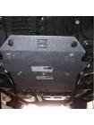 Защита двигателя для авто Toyota Land Cruiser 100 1997-2007 V-4.7Б, V-4,2TD ( TM Kolchuga ) ZiPoFlex