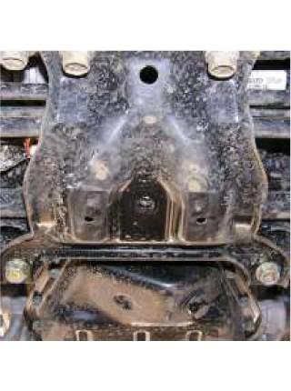 Защита АКПП, МКПП для авто Subaru Outback III 2004-2009 только V-3,0 ( TM Kolchuga ) ZiPoFlex