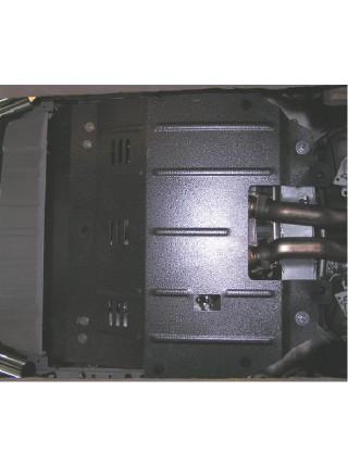Защита двигателя, КПП, радиатора для авто Volvo XC90 2003-2006 V-все ( TM Kolchuga ) ZiPoFlex