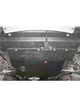 Защита двигателя, КПП, радиатора для авто Mitsubishi Outlander 2003-2010 V-все универсальна ( TM Kolchuga ) ZiPoFlex