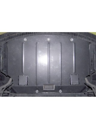 Защита двигателя, радиатора для авто BMW 5-й сериї E60 E61 2003-2010 V-2,0D 3,0 2,5 3,0D ( TM Kolchuga ) ZiPoFlex