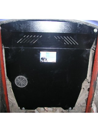 Защита двигателя, КПП, радиатора для авто Hyundai Getz 2002-2011 V-все МКПП АКПП ( TM Kolchuga ) Стандарт