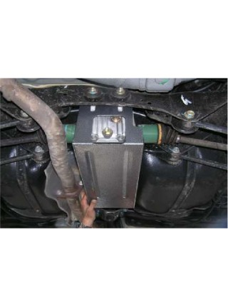 Защита раидатора и заднего моста для авто Subaru  Forester 2002-2008 V-все ( TM Kolchuga ) ZiPoFlex
