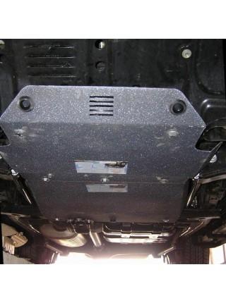 Защита двигателя и КПП для авто Lexus LX 470 1997-2007 V-все (бензин) ( TM Kolchuga ) ZiPoFlex