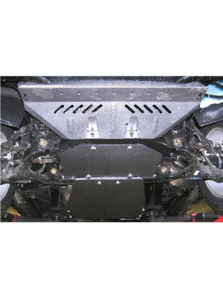 Защита двигателя, КПП, радиатора, раздат. коробки для авто Ssаng Yong Kyron 2005- V-все ( TM Kolchuga ) Стандарт