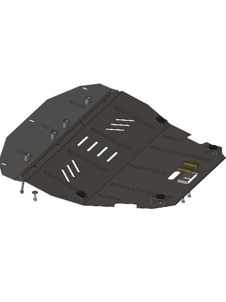 Защита двигателя, КПП, радиатора для авто Citroen Jumpy I 1995-2004 V-1,8; 2,0; 1,9D; (кроме 2,0 HDI) ( TM Kolchuga ) ZiPoFlex