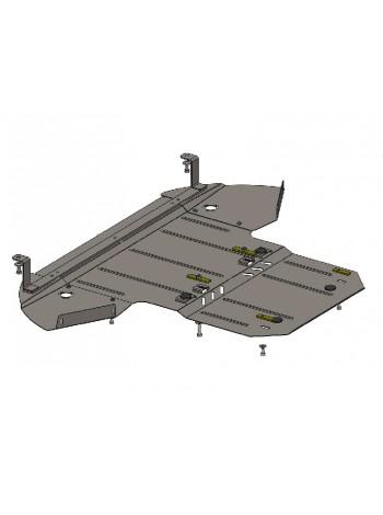 Защита двигателя, КПП, радиатора для авто Audi A8 2002-2010 V-3,2-4,2i ( TM Kolchuga ) ZiPoFlex