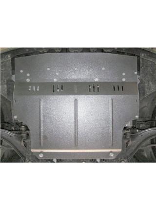 Защита двигателя, КПП, радиатора для авто Nissan Tiida (Versa) 2004- V-все ( TM Kolchuga ) ZiPoFlex