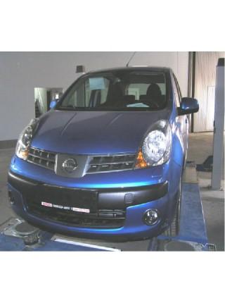 Защита двигателя, КПП, радиатора для авто Nissan Note 2005-2013 V-1,6 (МКПП) ( TM Kolchuga ) ZiPoFlex