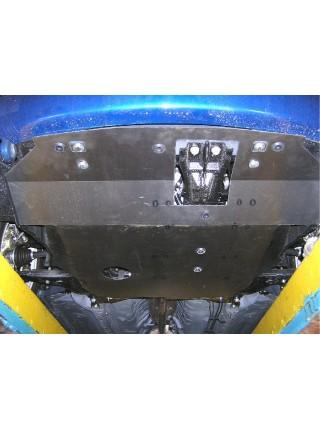 Защита двигателя, КПП, радиатора для авто Chery Elara I поколение 2006-2011 V-2,0 МКПП ( TM Kolchuga ) ZiPoFlex