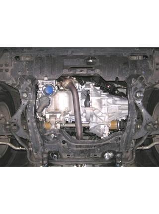 Защита двигателя, КПП, радиатора для авто Honda Civic VIII 2006-2012 V-все (седан кроме HYBRID) ( TM Kolchuga ) ZiPoFlex