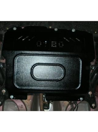 Защита двигателя, КПП, радиатора для авто Peugeot 107 2005-2014 V-все АКПП МКПП ( TM Kolchuga ) Стандарт