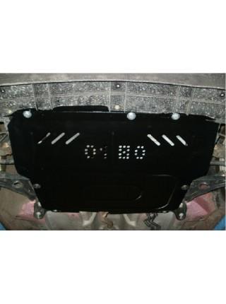 Защита двигателя, КПП, радиатора для авто Citroen С1 2005-2014 V-1,0 1,4 ( TM Kolchuga ) ZiPoFlex