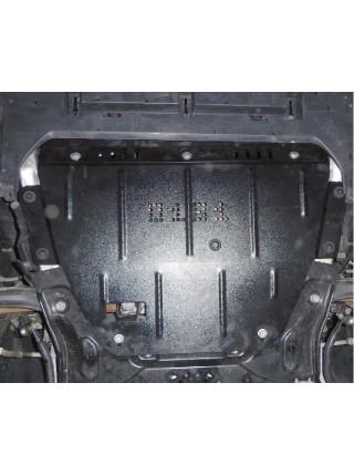 Защита двигателя, КПП, радиатора частично для авто Citroen С4 2004-2010 V-все ( TM Kolchuga ) Стандарт