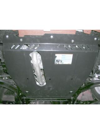 Защита двигателя, КПП, радиатора для авто Nissan Micra 2002-2010 V-1.2; 1,4; (МКПП) ( TM Kolchuga ) ZiPoFlex