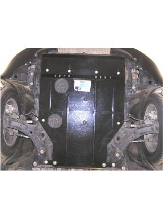 Защита двигателя, КПП, радиатора для авто Fiat Sedici 2006- V-все ( TM Kolchuga ) ZiPoFlex