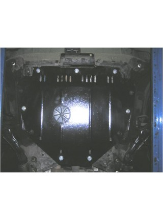 Защита двигателя и КПП для авто Honda CR-V III 2007-2013 V-2,4; 2,2D; (АКПП) ( TM Kolchuga ) ZiPoFlex