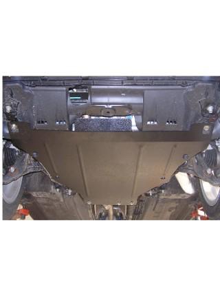 Защита двигателя, КПП, радиатора для авто Honda Accord VIII 2008-2013 V-2,4; 3,5; АКПП  (сборка США, Арабская сборка купе, седан кроме - Япония)  ( TM Kolchuga ) ZiPoFlex