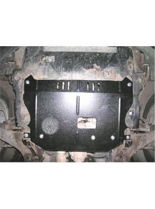Защита двигателя,КПП, раздат. коробки частично для авто Chevrolet Captiva 2006-2010 V-2,4 ( TM Kolchuga ) ZiPoFlex
