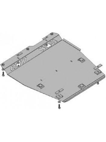 Защита двигателя, КПП, радиатора для авто Nissan Note 2005-2013 V-1,4 (МКПП) ( TM Kolchuga ) Стандарт