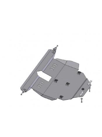 Защита двигателя, КПП, радиатора для авто Toyota Corolla E16 E17 2012- V 1,8 (АКПП/сборка ОАЕ, USA) ( TM Kolchuga ) Стандарт