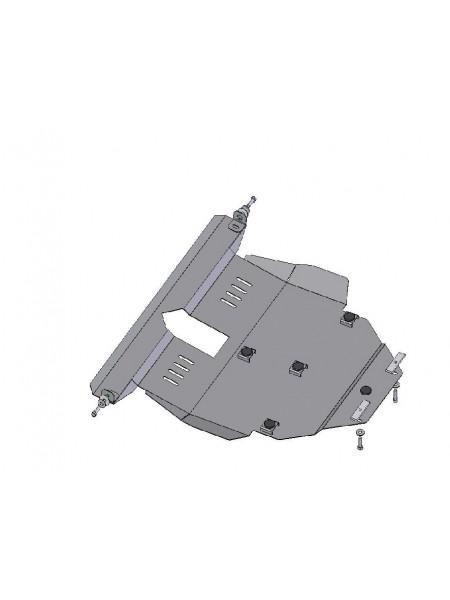 Защита двигателя, КПП, радиатора для авто Toyota Corolla E16 E17 2012- V 1,8 (АКПП/сборка ОАЕ, USA) ( TM Kolchuga ) ZiPoFlex