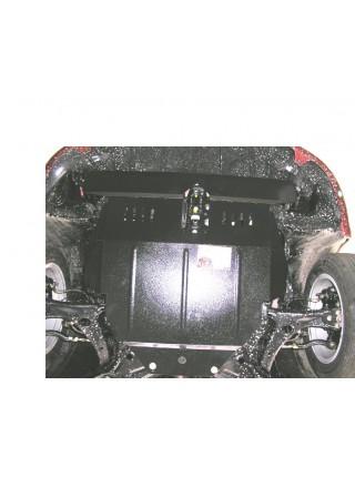 Защита двигателя, КПП, радиатора для авто Toyota Corolla E16 E17 2012- V 1,8 АКПП сборка ОАЕ ( TM Kolchuga ) ZiPoFlex