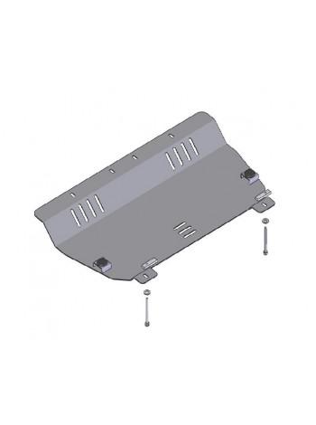 Защита двигателя, КПП, радиатора для авто Fiat 500 2007- V-1,2 ( TM Kolchuga ) ZiPoFlex
