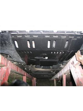 Защита двигателя, КПП, радиатора для авто Citroen Jumper II 2007-2014 V-все ( TM Kolchuga ) ZiPoFlex