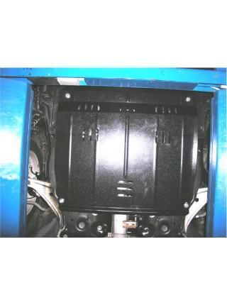 Защита двигателя, КПП, радиатора для авто Nissan Teana II 2008- V-все (АКПП) ( TM Kolchuga ) ZiPoFlex