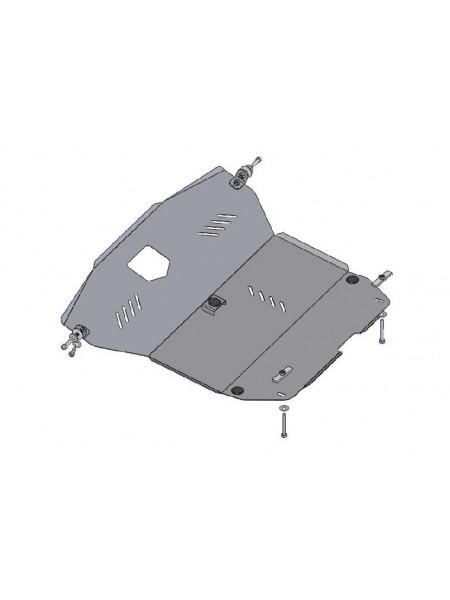 Защита двигателя, КПП, радиатора для авто Hyundai Matrix 2001-2010 V-все (МКПП, АКПП) ( TM Kolchuga ) ZiPoFlex