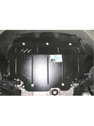 Защита двигателя, КПП, радиатора для авто Audi A3 Typ 8P 2004-2012 V-все ( TM Kolchuga ) ZiPoFlex
