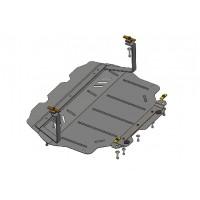 Защита двигателя, КПП, радиатора для авто Skoda Yeti 2009- V-все ( TM Kolchuga ) Стандарт