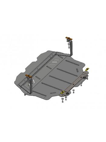 Защита двигателя, КПП, радиатора для авто Volkswagen Golf -6 2008-2012 V-все ( TM Kolchuga ) ZiPoFlex