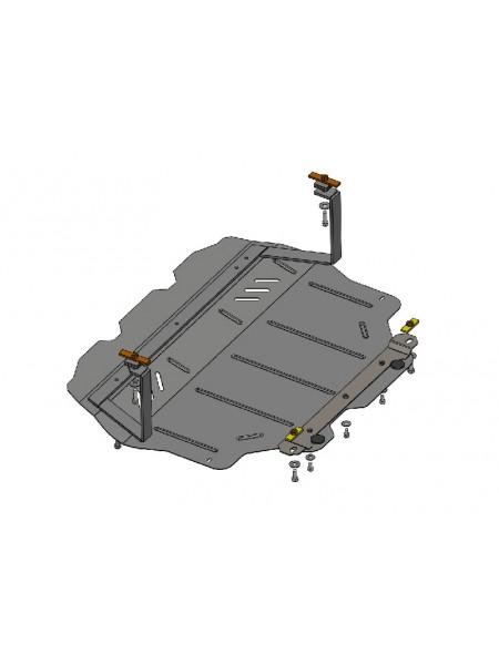 Защита двигателя, КПП, радиатора для авто Skoda Octavia II A5 2004- V- всi кроме авто з WeBasto ( TM Kolchuga ) Стандарт