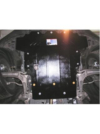 Защита двигателя, КПП, радиатора для авто Honda Civic VIII 2006-2012 V-все хетчбек МКПП робот ( TM Kolchuga ) ZiPoFlex