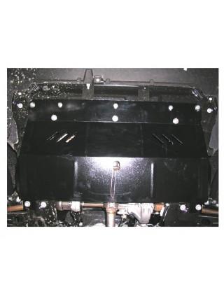 Защита двигателя, КПП, радиатора для авто Citroen Jumpy III 2007-2016 V-все (кроме 2,0 HDI МКПП) ( TM Kolchuga ) ZiPoFlex