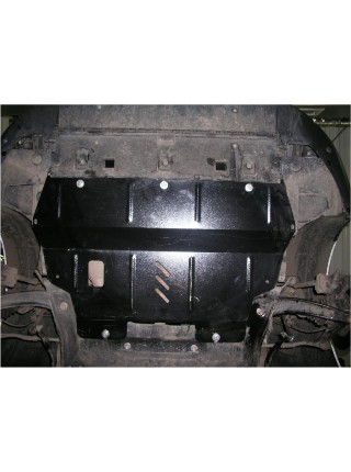 Защита двигателя, КПП, радиатора для авто Peugeot Partner Tepee 2008-2018 V-все ( TM Kolchuga ) ZiPoFlex