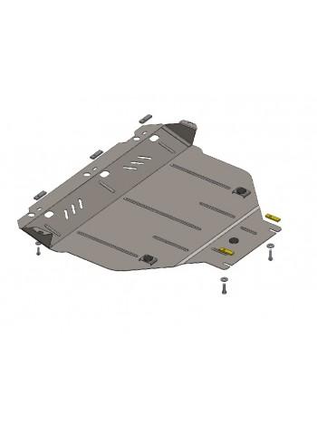 Защита двигателя, КПП, радиатора для авто Ford Kuga 2008-2013 V-все АКПП МКПП ( TM Kolchuga ) ZiPoFlex