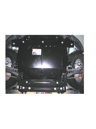 Защита двигателя, КПП, радиатора для авто Ford Fiesta VI JH 2001-2008 V-все (бензин) ( TM Kolchuga ) Стандарт