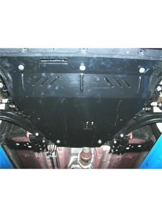 Защита двигателя, КПП для авто Nissan Qashqai J10 2006-2014 V-все ( TM Kolchuga ) ZiPoFlex