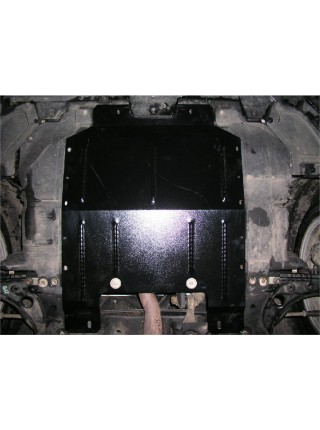 Защита двигателя, КПП, радиатора для авто Fiat Bravo 2007-2012- V-1,4; 1,6 D; (вариатор) ( TM Kolchuga ) ZiPoFlex