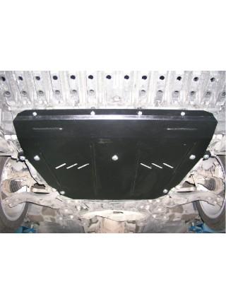 Защита двигателя, КПП, радиатора для авто Toyota Avensis III 2009- V-все (МКПП АКПП, вариатор) ( TM Kolchuga ) ZiPoFlex